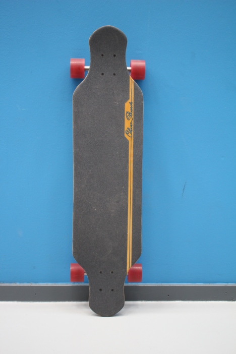 One of the many longboards I built